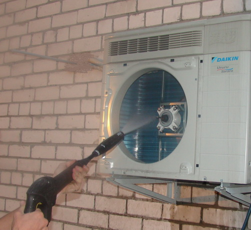 Как промыть кондиционер дома своими руками видео